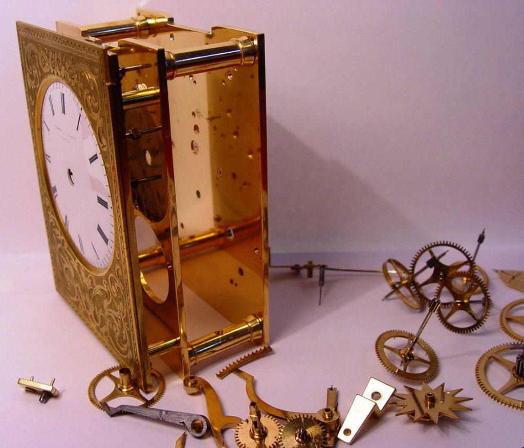 Carriage Clock Repair 4