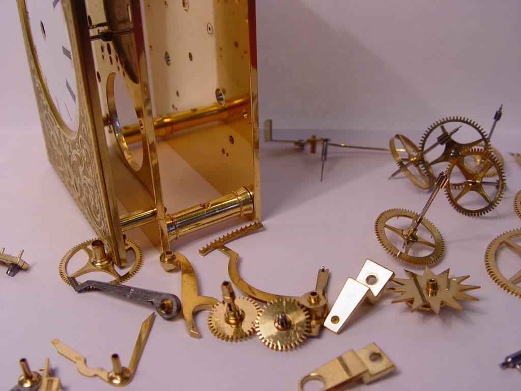 Carriage Clock Repair 5