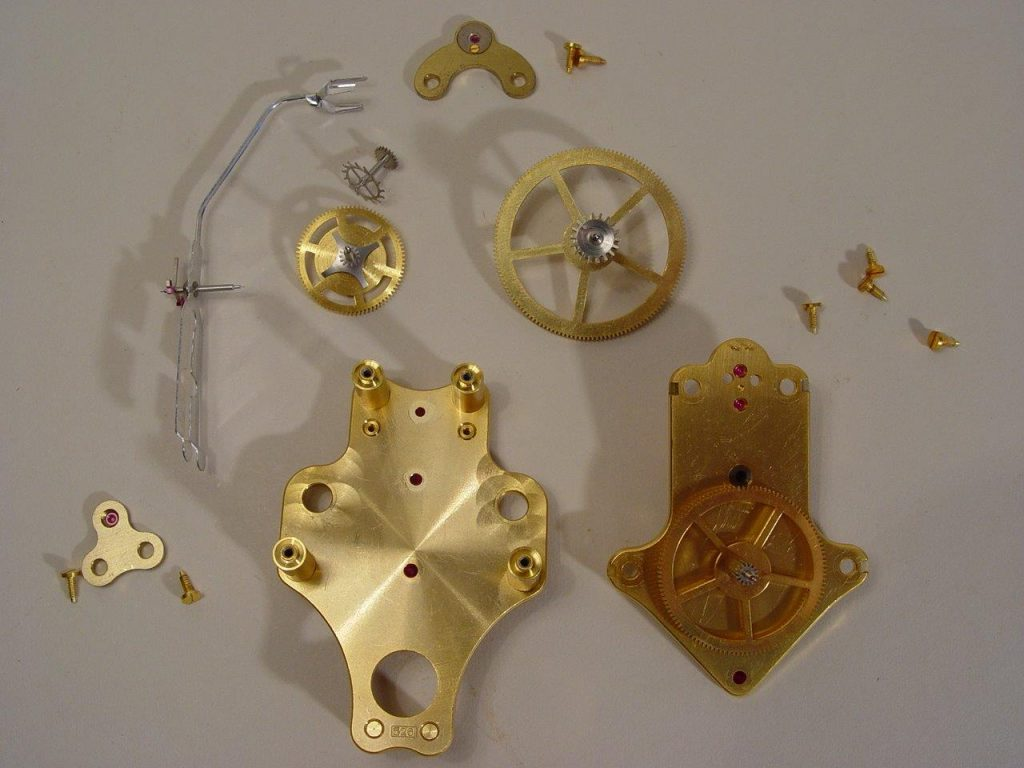 Cleaned Movement Parts