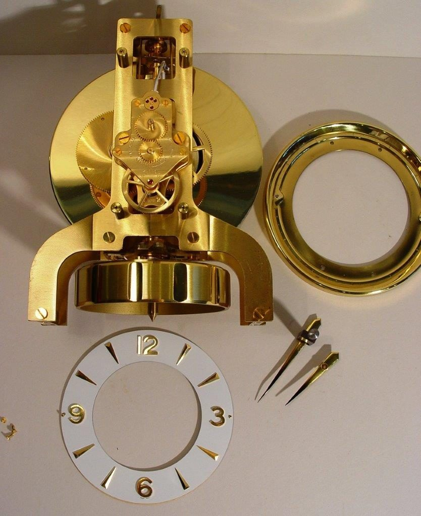 Dial And Dial Plate Removed