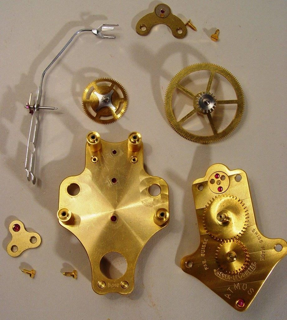 Movement In Pieces Prior To Cleaning 2