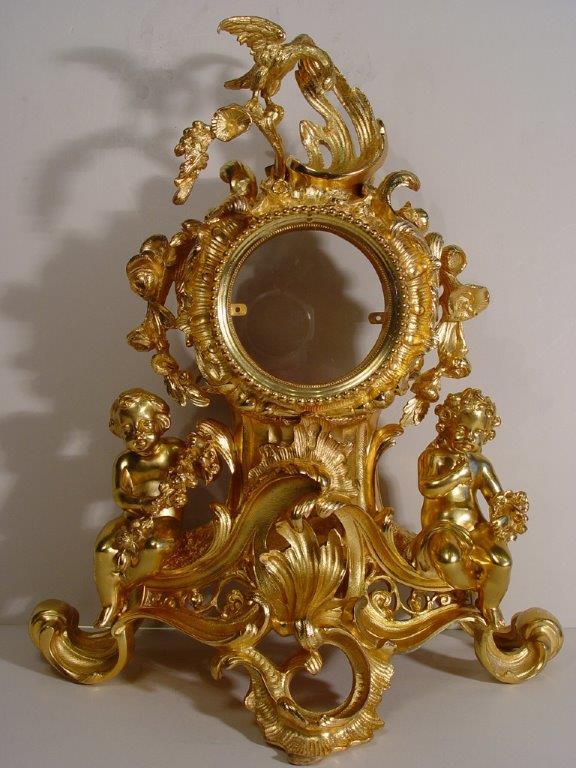 Mantel clock case restoration